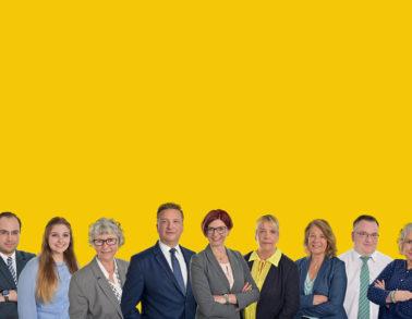 Portrait Gruppenfoto Firmen